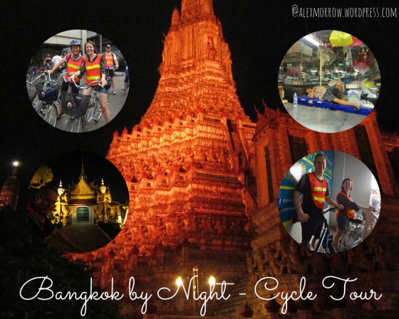 BKK by night - cycle tour